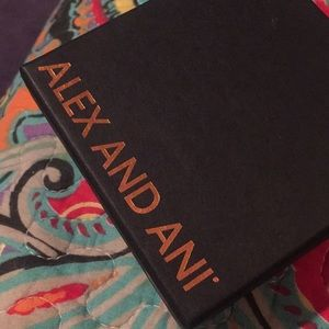 Alex and Ani Accessories - Prints of Love Alex and Ani Bracelet